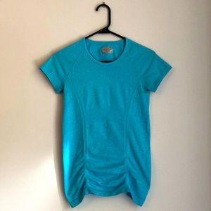 Athleta Blue Fast Track T-shirt Sz XS